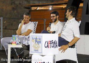 Billy Costacurta e Marco Cattaneo a Caffeina