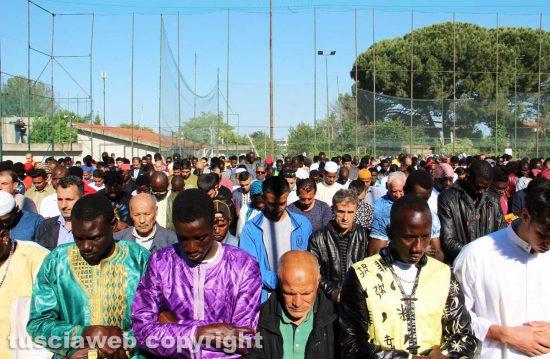 Viterbo - La festa per la fine del Ramadan