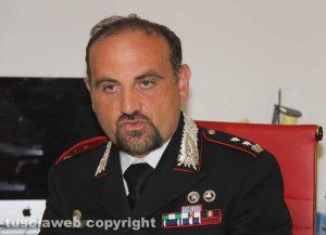 Il tenente colonnello Guglielmo Trombetta