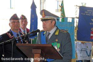 Il comandante della guardia di finanza Giosuè Colella