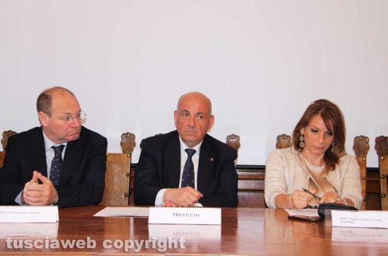 Viterbo - Paolo Auriemma, Giovanni Bruno e Daniela Donetti
