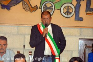 Tarquinia - Il sindaco Alessandro Giulivi-durante-il-giuramento