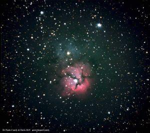 La Nebulosa Trifida