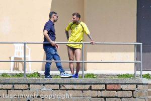 Sport - Calcio - Viterbese - Daniele Mignanelli e Danilo Pagni