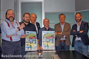 Viterbo - La presentazione della cronoscalata Lago Montefiascone