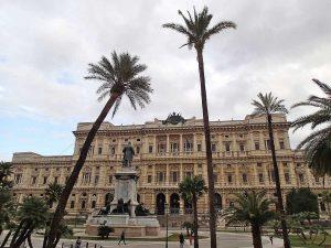 Roma - Il palazzo di giustizia - Sede dell'Anm