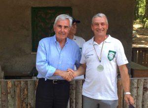 Tusciadi - Riccardo Viola alle premiazioni del Ruzzolone