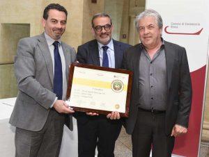 Roma - La premiazione per l'azienda agricola Monte Jugo