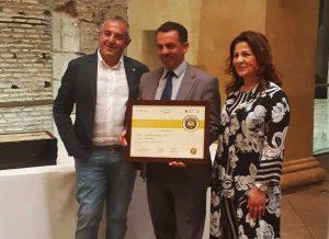 Mauro Cioffi riceve il premio