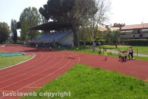 Sport - Atletica leggera - Il campo scuola di Viterbo