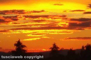 Viterbo - Il tramonto