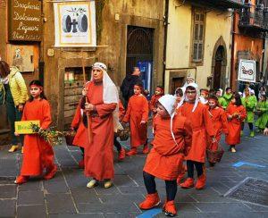 Montefiascone - Corteo di arti e mestieri medievali