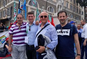 Roma - La Cisl di Viterbo in piazza