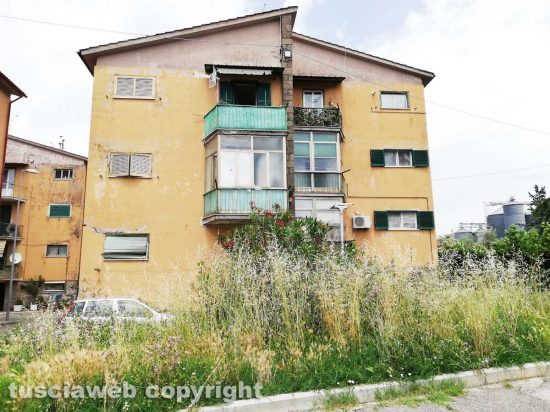 Viterbo - Le case popolari al Carmine