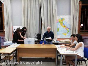 Elezioni comunali 2019 - Un seggio a Civita Castellana