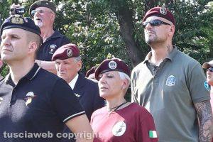 I paracadutisti di Viterbo in visita a Giavera del Montello