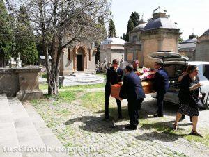 Viterbo - I funerali di Veronica Torretti