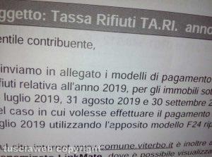 Comune di Viterbo - Tassa sui rifiuti