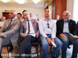 Viterbo - Il presidente della provincia con i sindaci dei Cimini