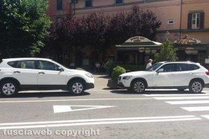 Viterbo - Sosta selvaggia a Bagnaia