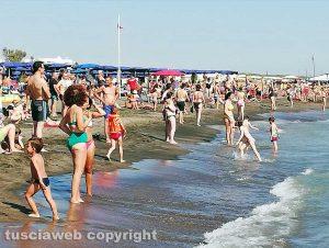 La spiaggia di Montalto Marina