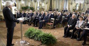 Roma - Patrizia Badini (Ail Viterbo) all'incontro con il capo dello Stato Sergio Mattarella