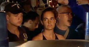 Lampedusa - L'arresto di Carola Rackete