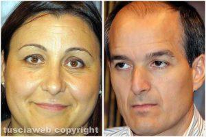 Ludovica Salcini ed Elpidio Micci