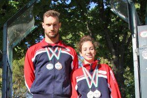 Sport - Nuoto - Due atleti del Centro nuoto Ronciglione