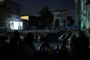 L'arena del Tuscia film fest a piazza San Lorenzo