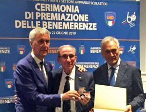 Benermerenza sportiva per Sergio Pollastrelli