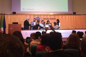 Gli studenti speciali dell'istituto di Orte premiati da UnionCamere