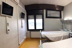 Viterbo - Il servizio tv on demand per posto letto a Belcolle