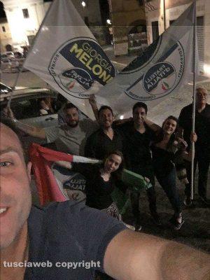 Civita Castellana - Franco Caprioli sindaco - FdI festeggia