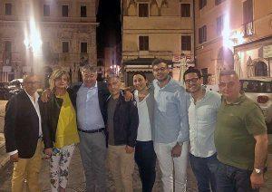 Civita Castellana, la Lega festeggia la vittoria di Franco Caprioli sindaco