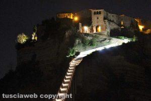 Bagnoregio - Civita di Bagnoregio illuminata