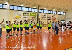 Sport - Volley - Finale provinciale Seconda divisione - La premiazione della Scp Orte