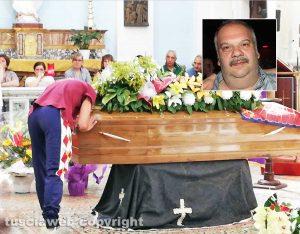 Soriano - I funerali di Riccardo Carinella