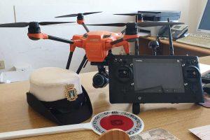 Montalto di Castro - Il nuovo drone della polizia locale