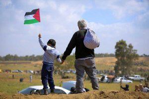 Palestinesi a Gaza