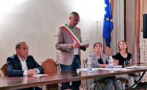 San Lorenzo Nuovo - Il giuramento del sindaco Bambini