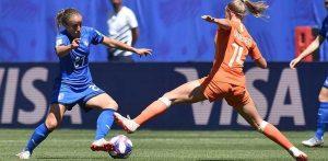 Mondiali femminili di calcio, Italia-Olanda