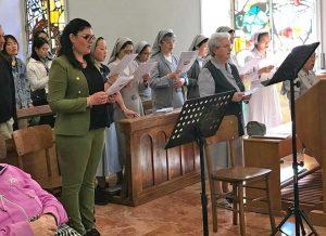 Martina Chiossi e le suore ospedaliere di Villa Rosa