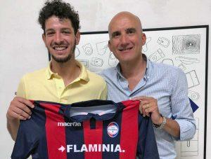 Sport - Calcio - Flaminia - Francesco Lazzarini e Augusto Ciarrocchi