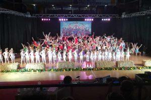 Lo spettacolo del Nuovo centro danza e fitness