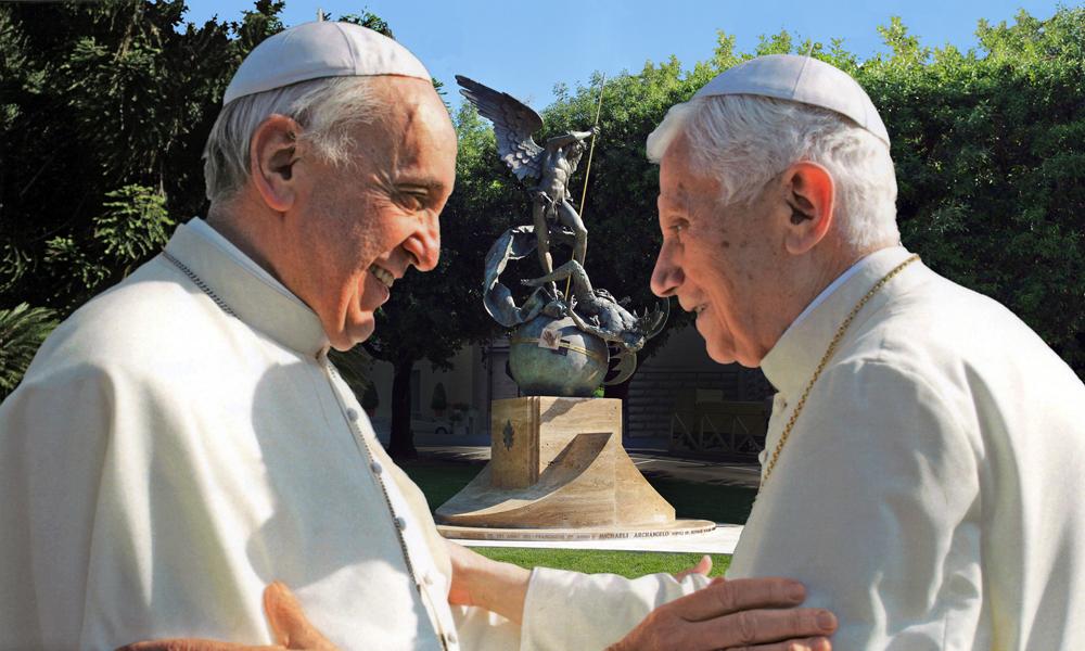 Covid, Vaticano: vaccinati Francesco e Benedetto XVI