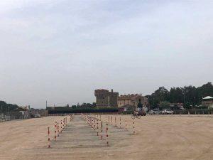 Montalto di Castro - Il parcheggio di piazzale dei Pescatori a Pescia Romana