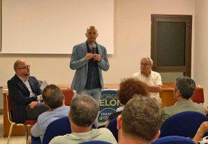 Nicola Procaccini a Viterbo