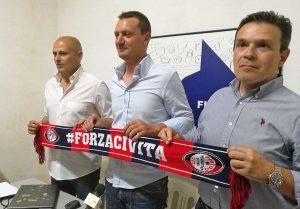 Sport - Calcio - La presentazione del nuovo alle nature della Flaminia Francesco Punzi