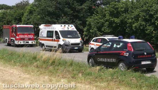 Vigili del fuoco, 118 e carabinieri